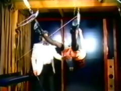 a very long and sexy vintage bdsm sex movie scene