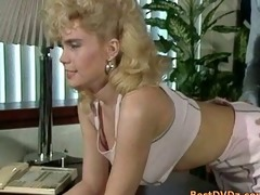blond angel blowing ramrod and receives pushed