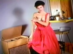 pleasing little pussycat - vintage nylons tease