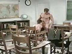 vintage teacher student