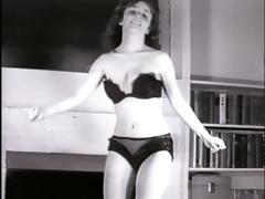little sister - vintage striptease dance petite