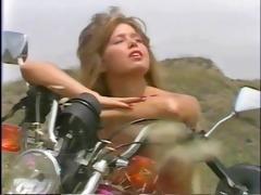 s garb motorbike girl