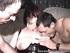 homemade film with aged woman and boyfrends