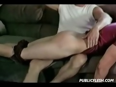 retro twink homosexual stripped booty flogging