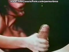 vintage oral pleasure stimulation with jizz flow