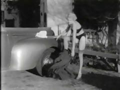vintage stripper film - hollywood girls