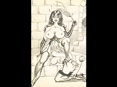 classic massive breast evil bdsm women.