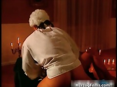 nice-looking blond acquires lascivious when large