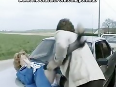 accident movie scene of hard outdoor sex