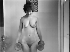 yvonne keeping fit bare