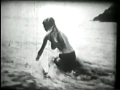 vintage - beach angel