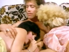 tiny blond tramp rides john holmes in daybed
