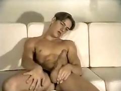 white guy masturbating