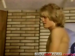 young chaps fuck and are watched by a voyeur -