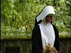nuns chastise and abuse a young angel