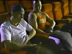 vintage homosexual porn theater