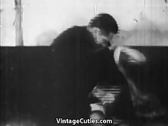 obscene boss bangs his secretary