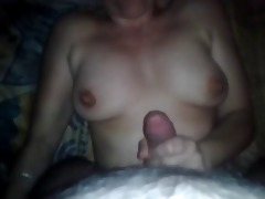 #homemademature - mom rec huge cum on her mambos