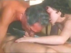vintage bi sexual - 2 guys, one gal