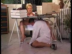 silvia saint - an office day