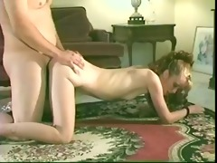 lustful housewife trades banana for shlong