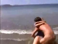 sally fucked on the beach