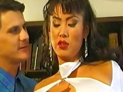 large titted oriental minka has her juicy cunt