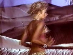 pink panther disrobe - vintage glamour blond