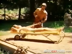 vintage gay macho fuck from bullet videopac 7