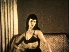 bettie vintage stockings tease (non nude)