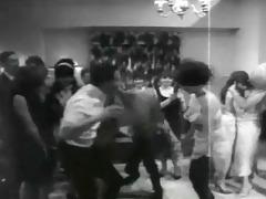 retro undress party