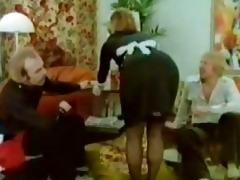 classic blonde maid fuckfest