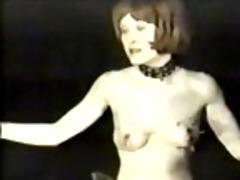 sadomasochism vintage episode scene with teat