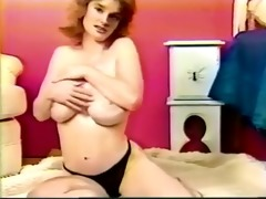 three-some busty solo time