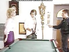rock hard large o on the billiard table
