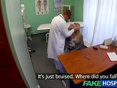 fakehospital surprise creampie for angel with